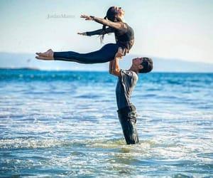 dirty dancing, lift, and ocean image