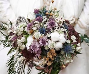 bouquet, fashion, and flower image