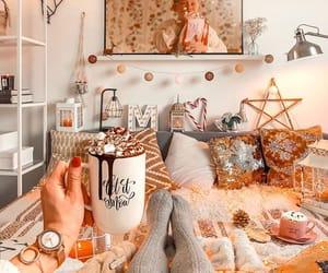 beauty, christmas, and coffee image