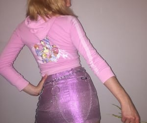 pink, fashion, and 90s image