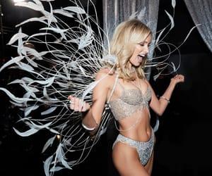 elsa hosk, fitness, and lingerie image