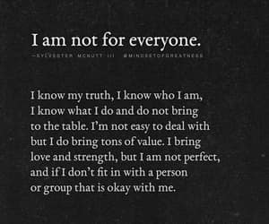 not for everyone, i know me, and its ok with me image
