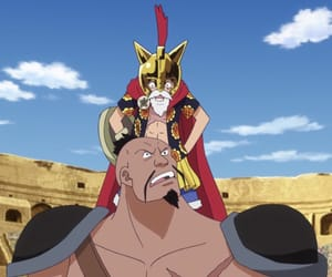 anime, king, and one piece image