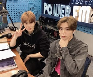 johnny, jaehyun, and idols image