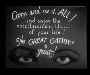 gif, the great gatsby, and vintage image
