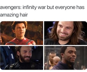 Avengers, Marvel, and infinity war image
