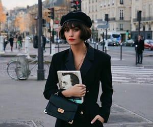 beret, black, and fashion image