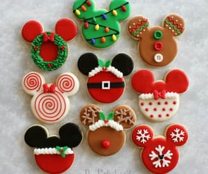 christmas, Cookies, and disney image