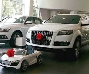 car, audi, and family image