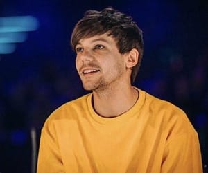 louis tomlinson, one direction, and yellow image