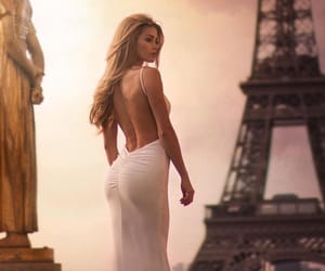 beauty, body, and eiffel tower image