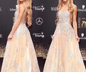 beauty, blonde, and dresses image