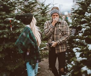 christmas, people, and winter image