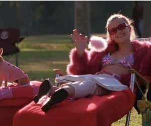 elle woods, glitter, and legally blonde image