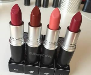 lipstick, makeup, and Nude image