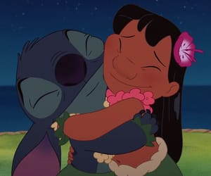 stitch, lilo, and cartoon image