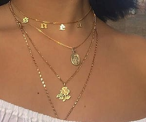 gold, aesthetic, and jewelry image