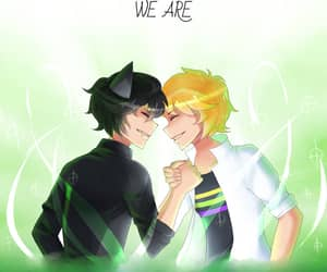 Chat Noir, plagg, and Adrien image