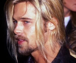 brad pitt, handsome, and actor image