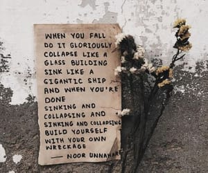 flowers, poetry, and quotes image