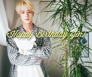birthday, happy jin day, and worldwide handsome image