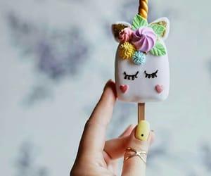 candies, ice cream, and unicorns image