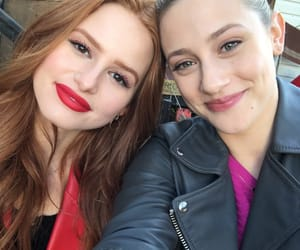 lili reinhart, madelaine petsch, and riverdale image