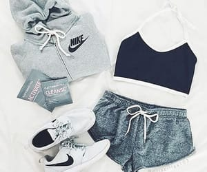 fashion, nike, and girls image