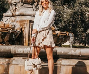 blogger, blonde hair, and fashion image