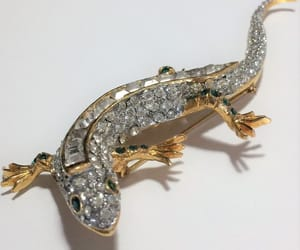 etsy, salamander, and vintage jewelry image