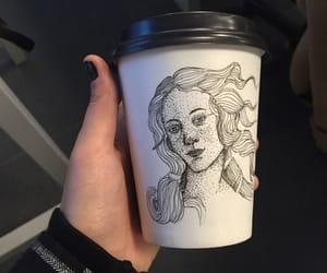 alternative, artist, and cup image