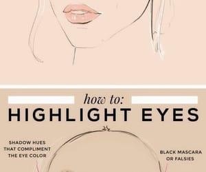 highlight, makeup, and tips image