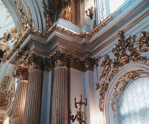 architecture, gold, and art image