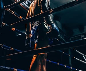 kickboxing, sport, and thai boxing image
