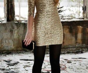 christmas, dresses, and glitter image