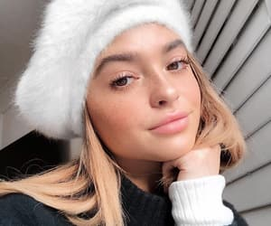 beauty, hair, and winter image