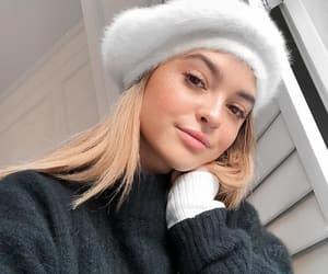 winter, beauty, and fashion image
