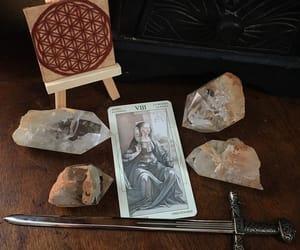 crystals, davinci, and divination image