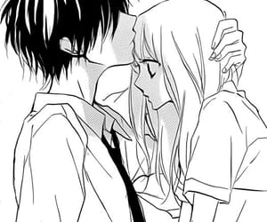 couple, manga, and anime image