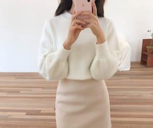 asian fashion, korean fashion, and top image