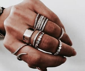 rings, style, and jewelry image