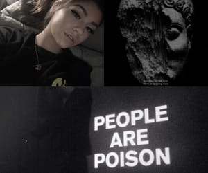 aesthetic, quote, and black image