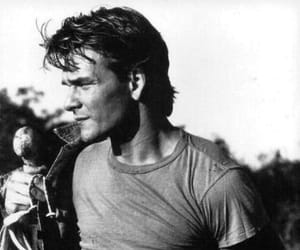 patrick swayze, handsome, and man image