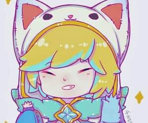 chibi, lol, and nekomimi image