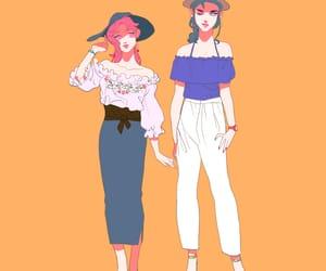 fashion, genderbender, and jjba image