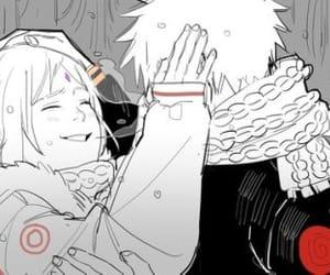 sakura haruno, narusaku, and 🍥 image