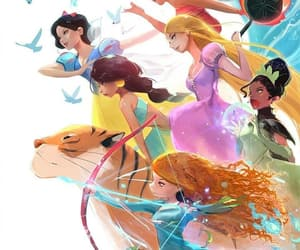 disney, snow white, and disney princesses image