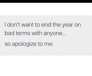 anyone, apologize, and bad image