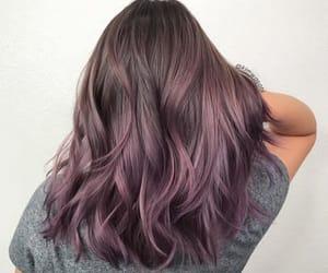 morado, purple, and cabello image