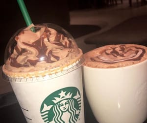 aesthetic, coffee, and frappuccino image